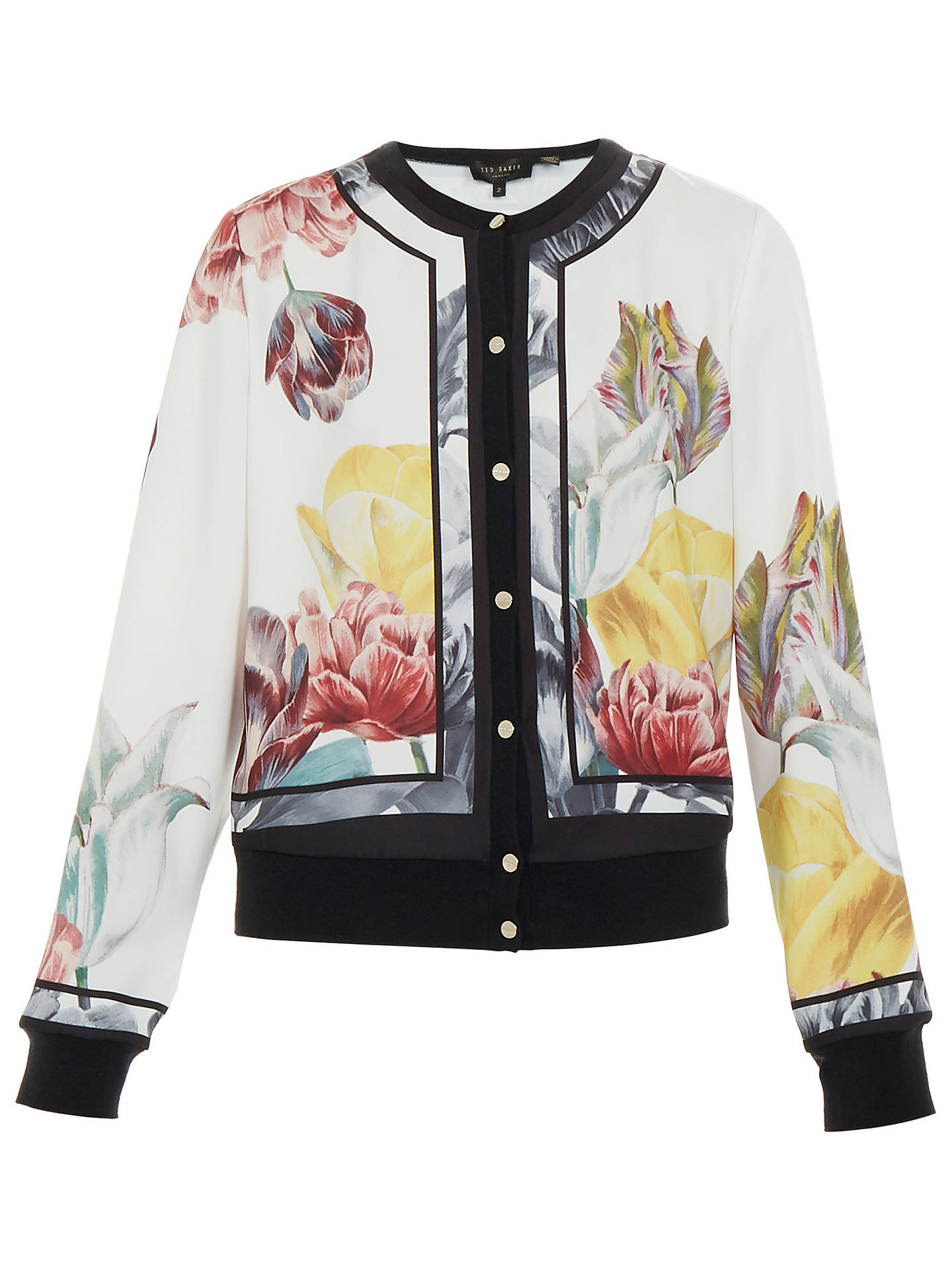e1c4fd9c2 Buy Ted Baker Olyviaa Tranquility Woven Bomber Jacket