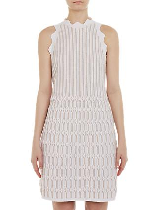Ted Baker Owstie Knitted Dress, Pink
