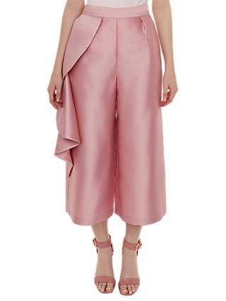 Ted Baker Nannina Wide Trousers, Pink