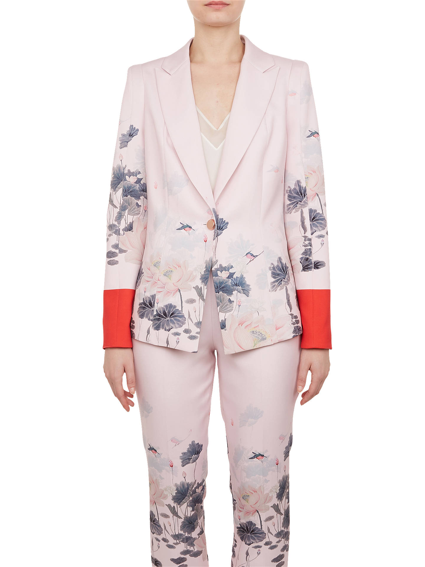 da598c4839ce8 Buy Ted Baker Naimh Lake Of Dreams Tailored Jacket