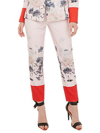 Ted Baker Naimht Lake Of Dreams Trousers, Pink