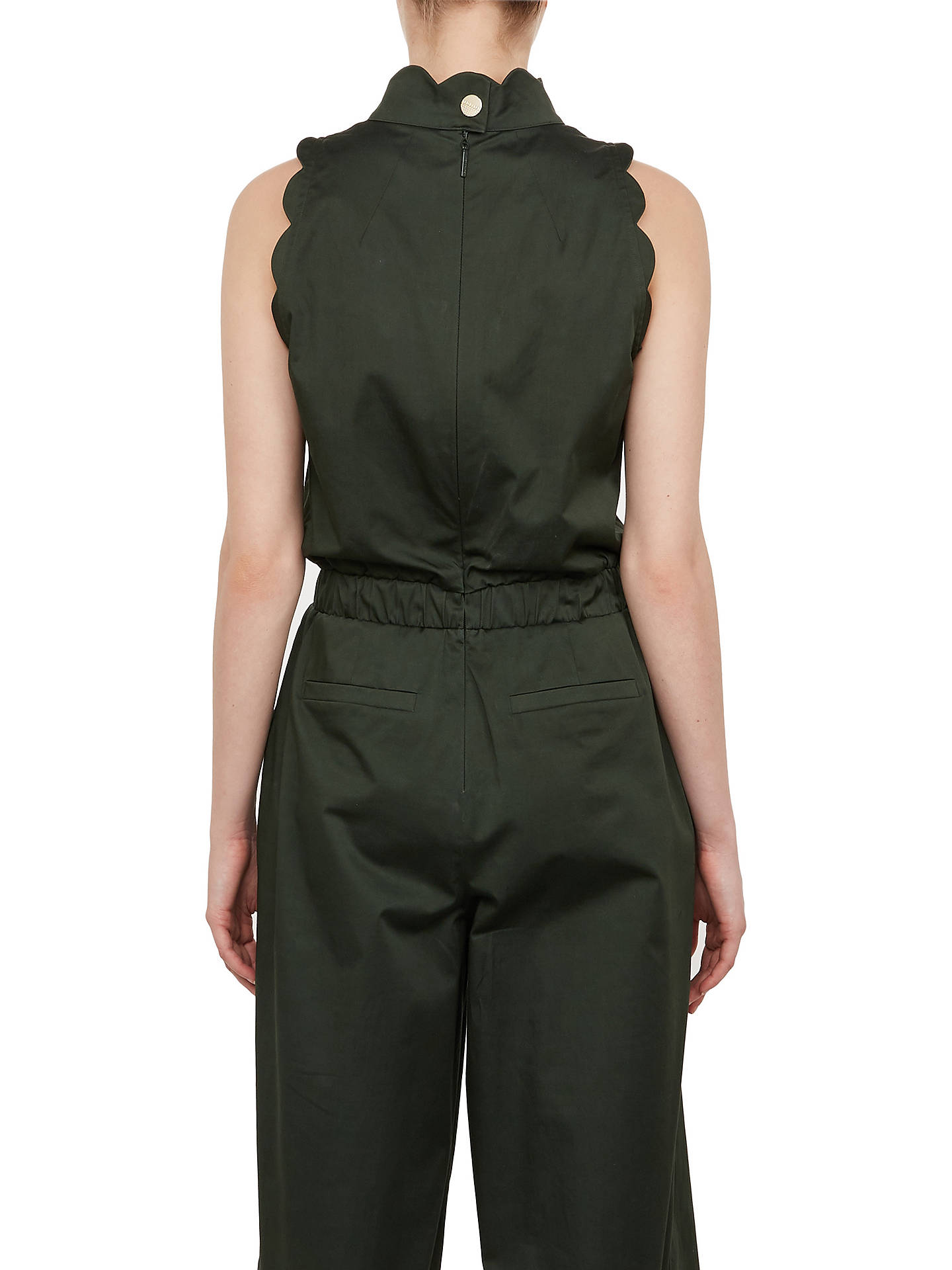 Buy Ted Baker Naomay Jumpsuit, Green, 1 Online at johnlewis.com