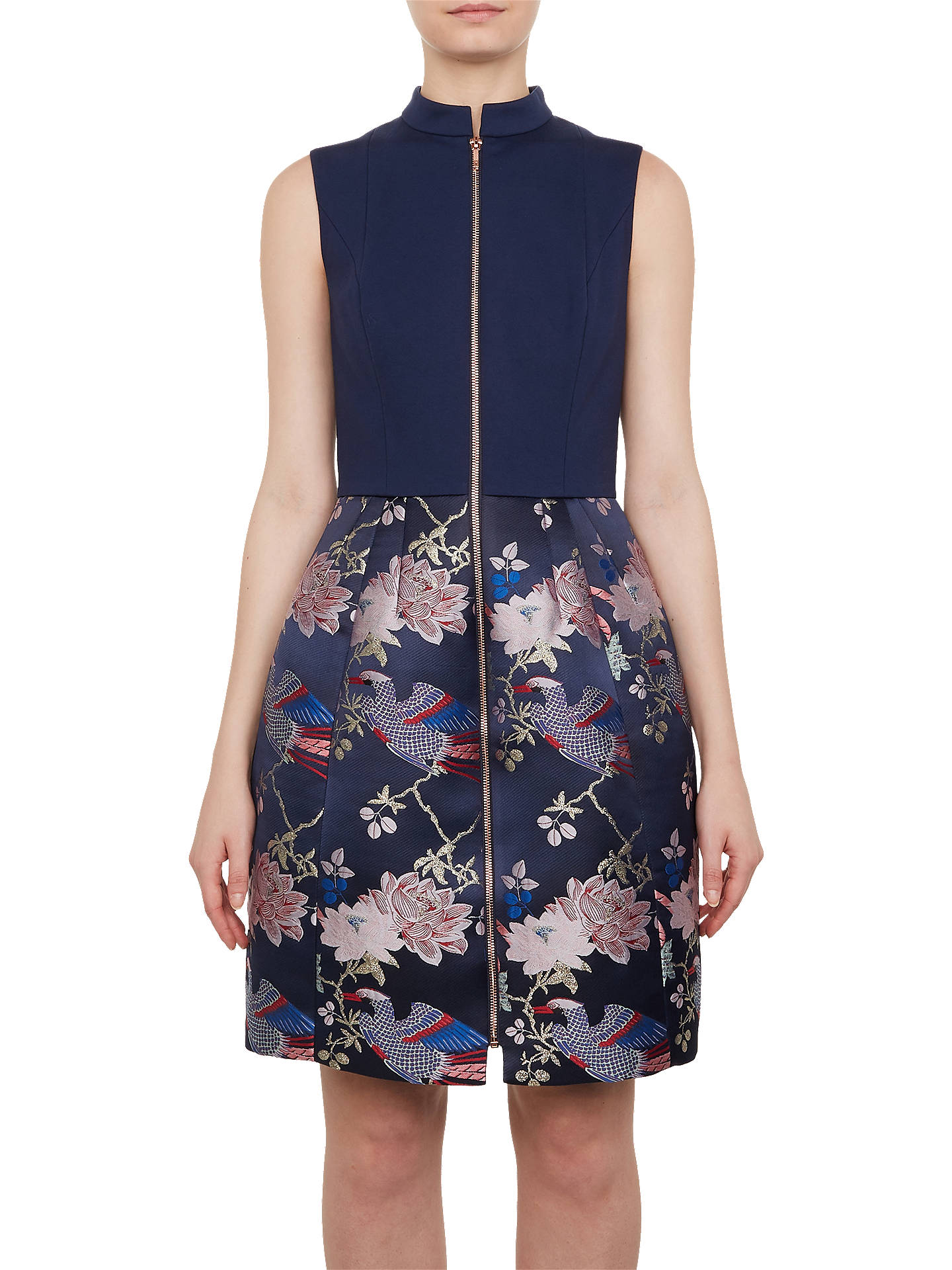 70af66749a4b7 Buy Ted Baker Chinoiserie Jacquard Zipped Dress