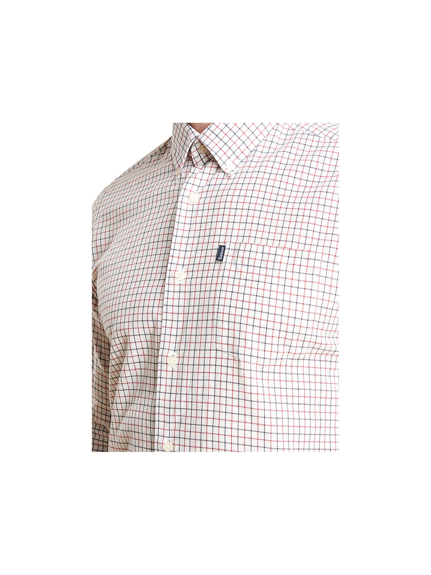 91d6869ac2a Buy Barbour Stapleton Tattersall Long Sleeve Check Shirt