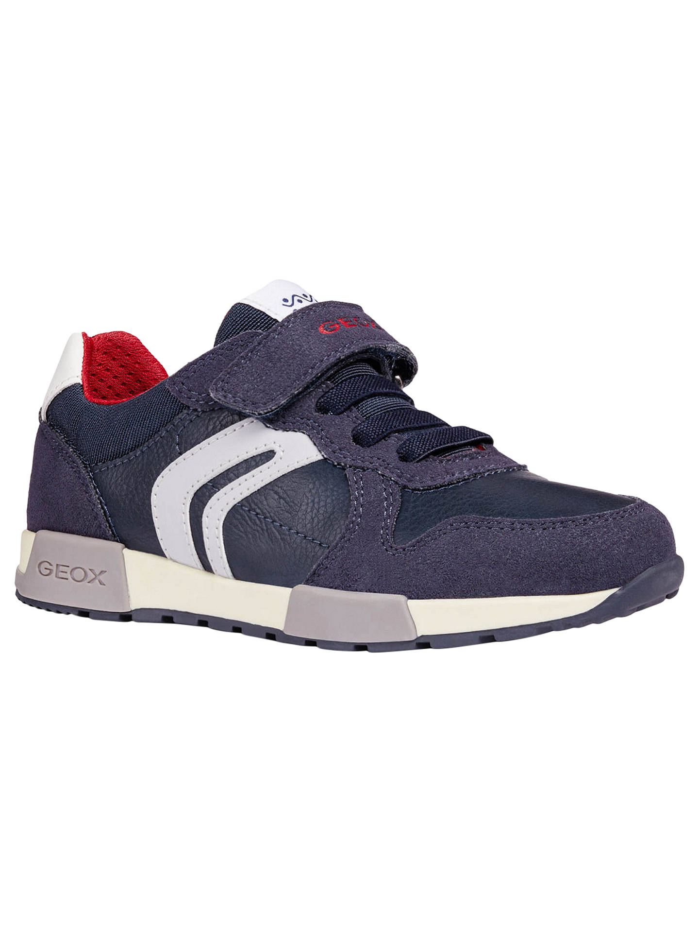 superior quality c66dd a3463 Geox Children's J Alfier Shoes, Blue at John Lewis & Partners