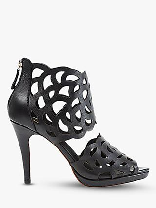 Sargossa Inspire Heeled Sandals, Black Suede