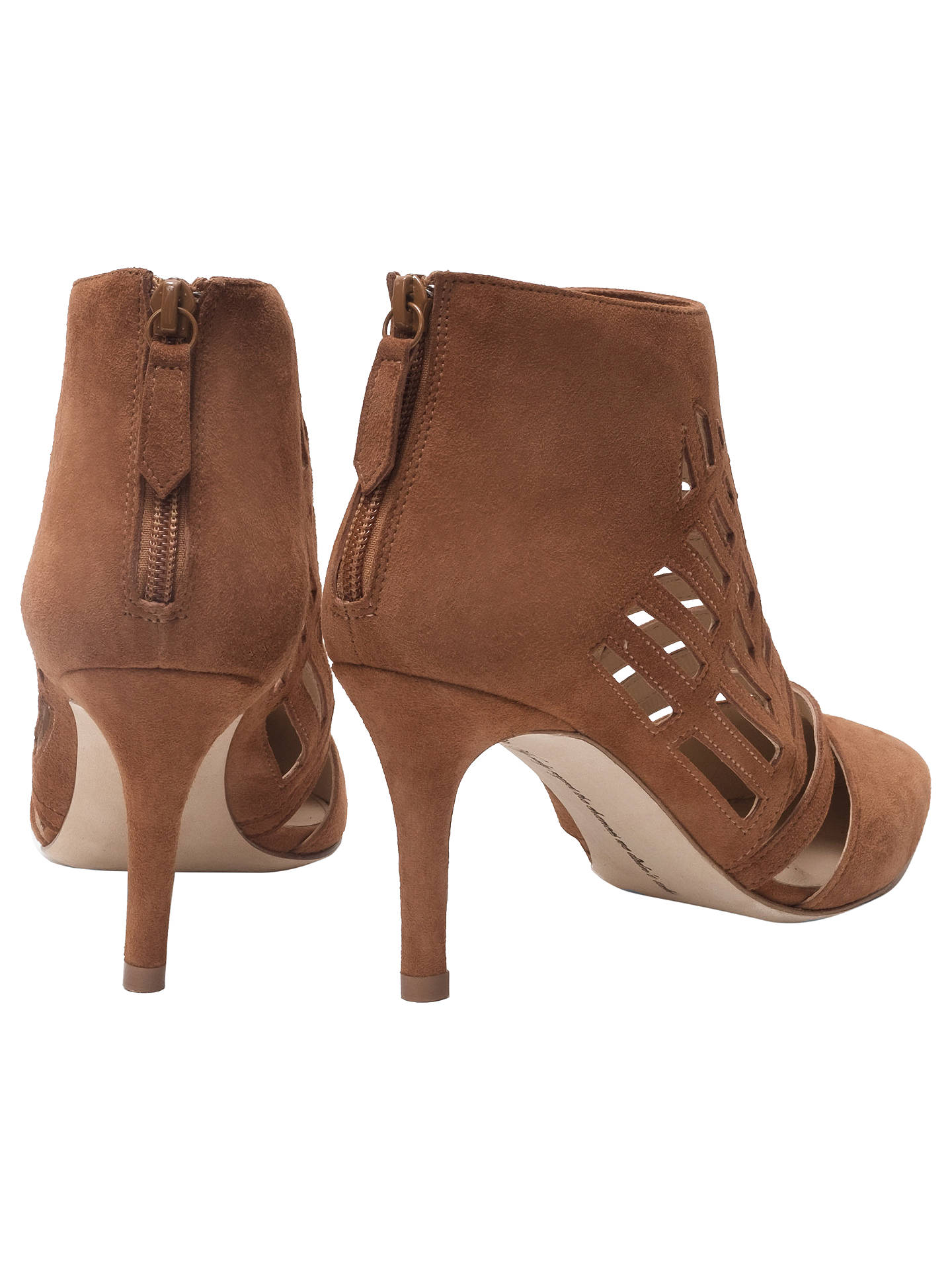 Buy Sargossa Spider Stiletto Heel Shoe Boots, Brown, 8 Online at johnlewis.com
