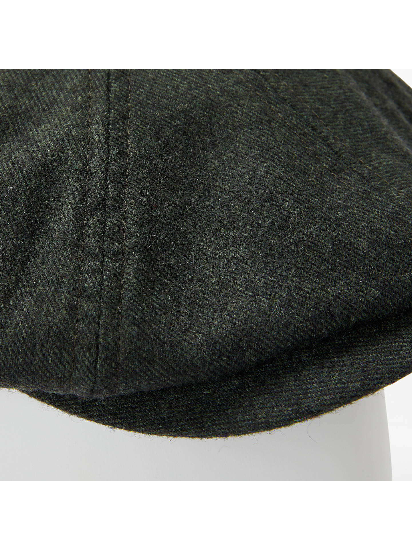 Buy Ted Baker Baker Boy Hat, Green, S/M Online at johnlewis.com