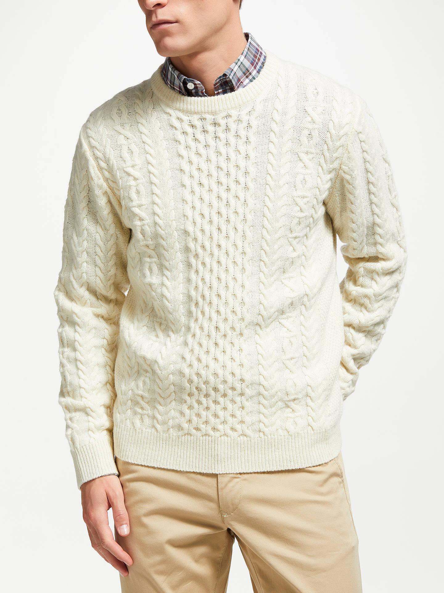 e0ddb552815361 Buy GANT Love Aran Wool Knit Jumper