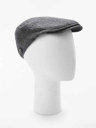 Buy Ted Baker Flat Cap, Blue, S/M Online at johnlewis.com