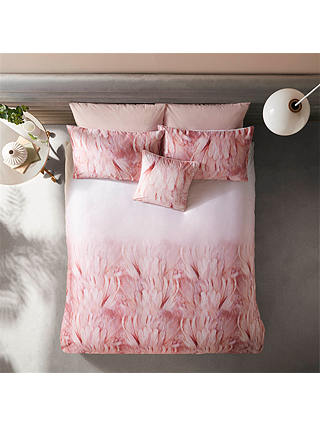 Buy Ted Baker Angel Falls Double Duvet Cover, Pink Online at johnlewis.com