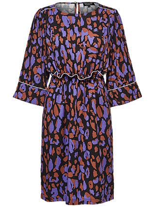 Buy Selected Femme Tessa Print Dress, Multi, 8 Online at johnlewis.com