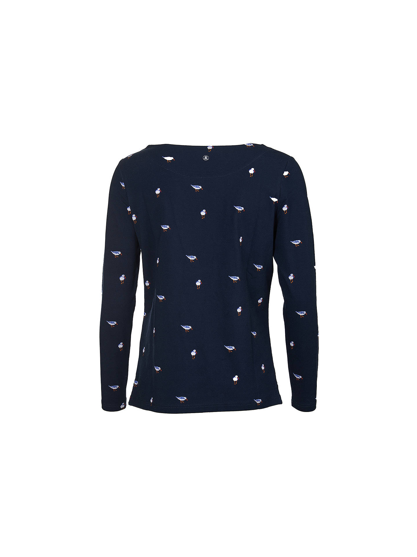 BuyBarbour Stronsay Long Sleeve T-Shirt, Navy, 8 Online at johnlewis.com