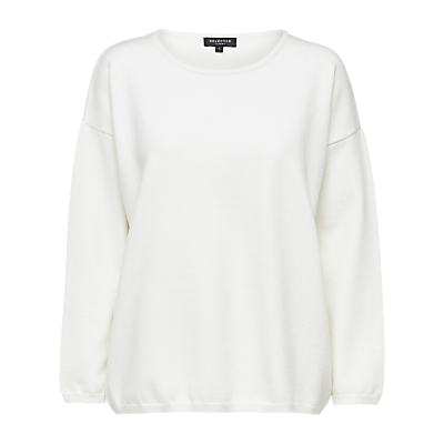 Selected Femme Minna Top, Snow White