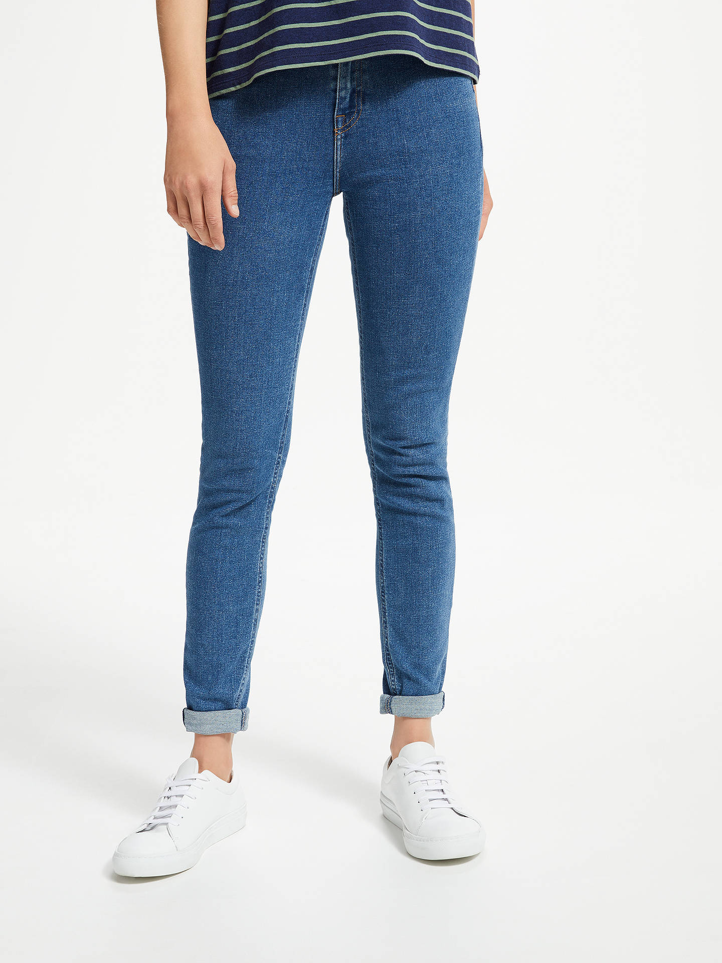 d146ce64 Buy Lee Scarlett High Waist Skinny Jeans, Flat Stone, W27/L31 Online at ...