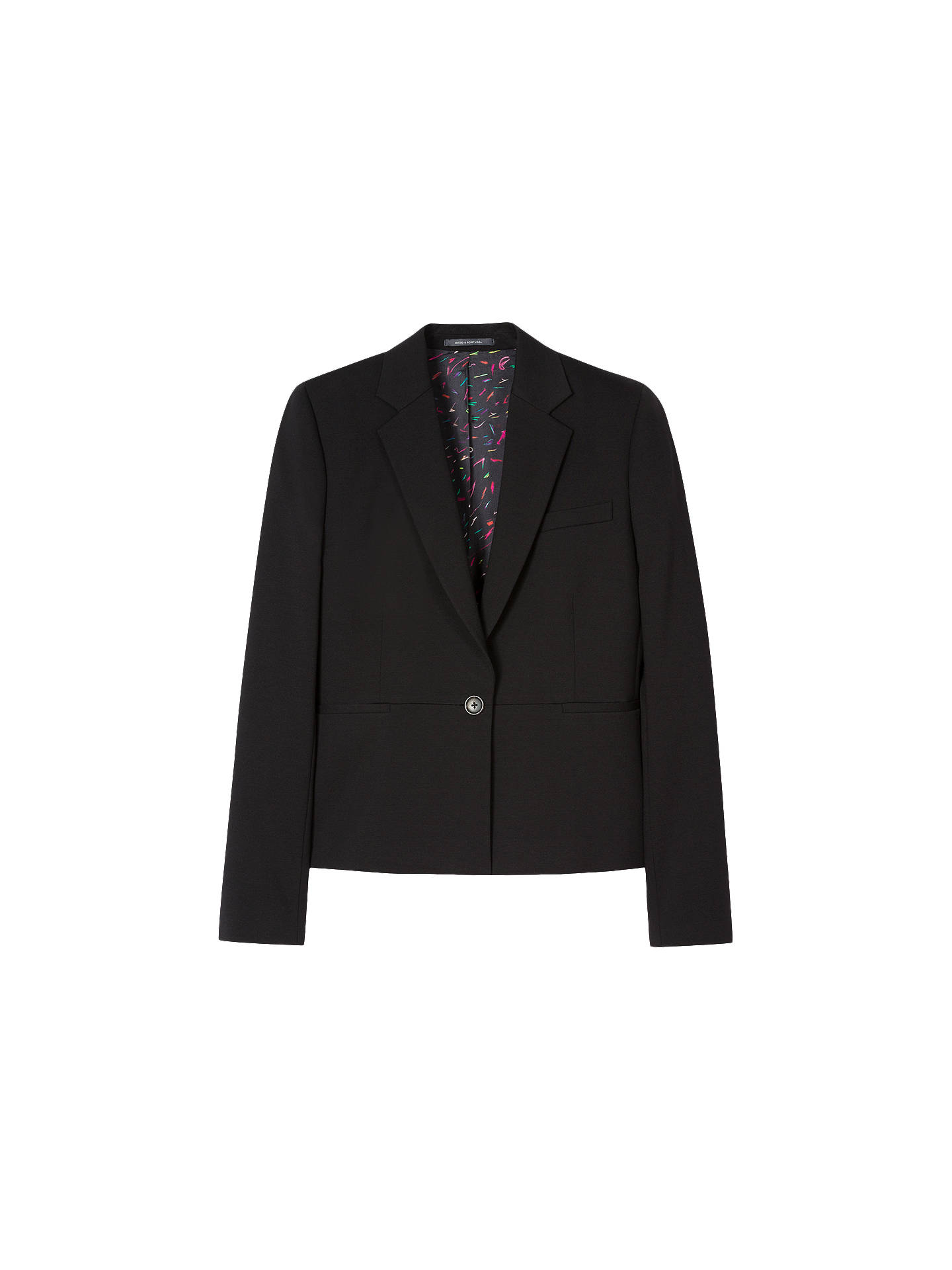 Buy PS Paul Smith Milano Jacket, Black, 8 Online at johnlewis.com