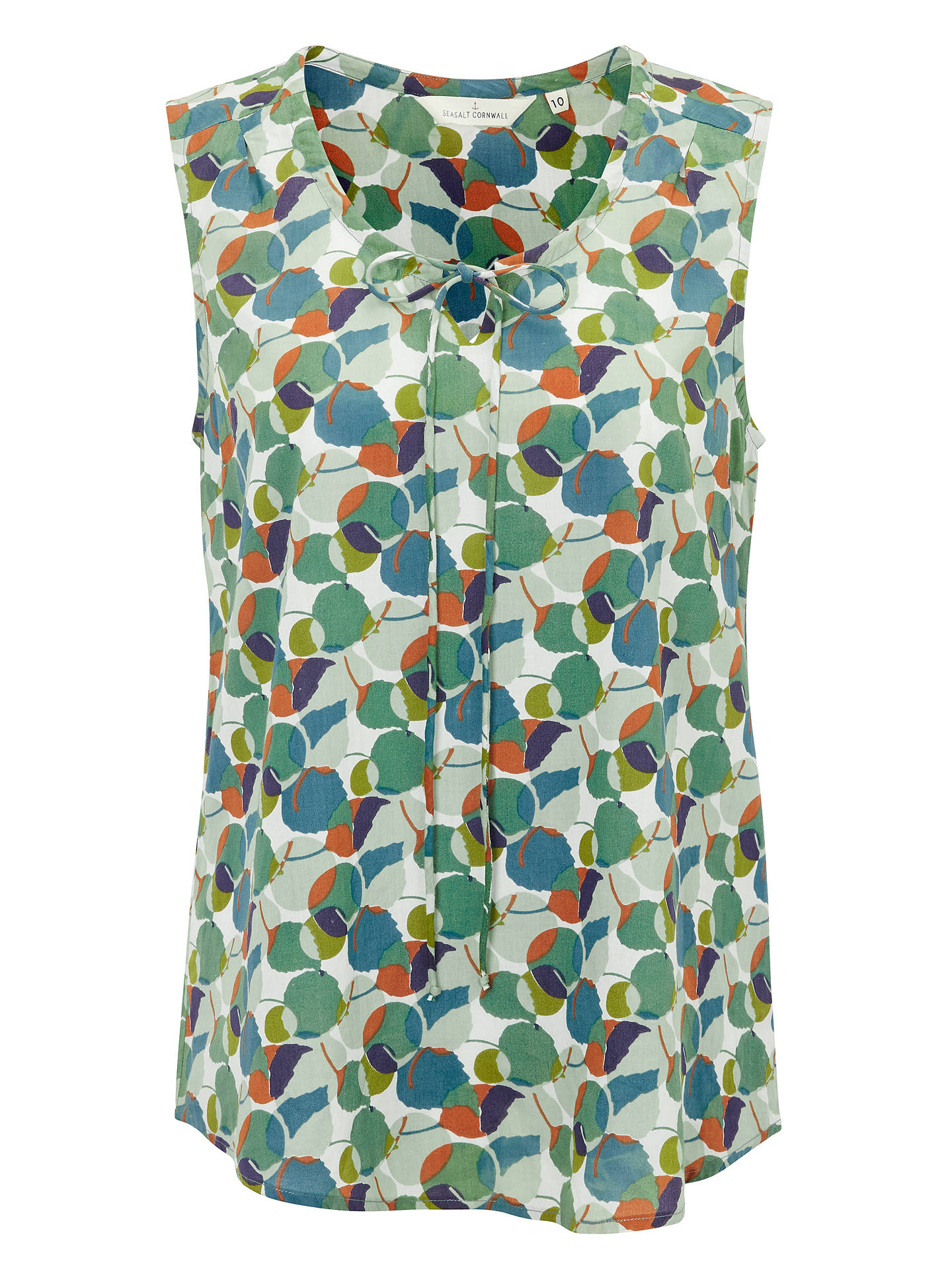 Buy Seasalt Cobbs Well Top, Layered Leaf Salt, 8 Online at johnlewis.com