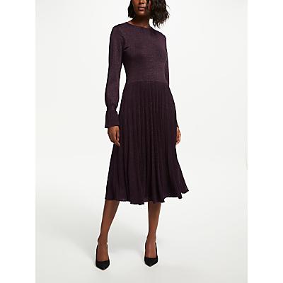 Bruce by Bruce Oldfield Knitted Dress, Purple