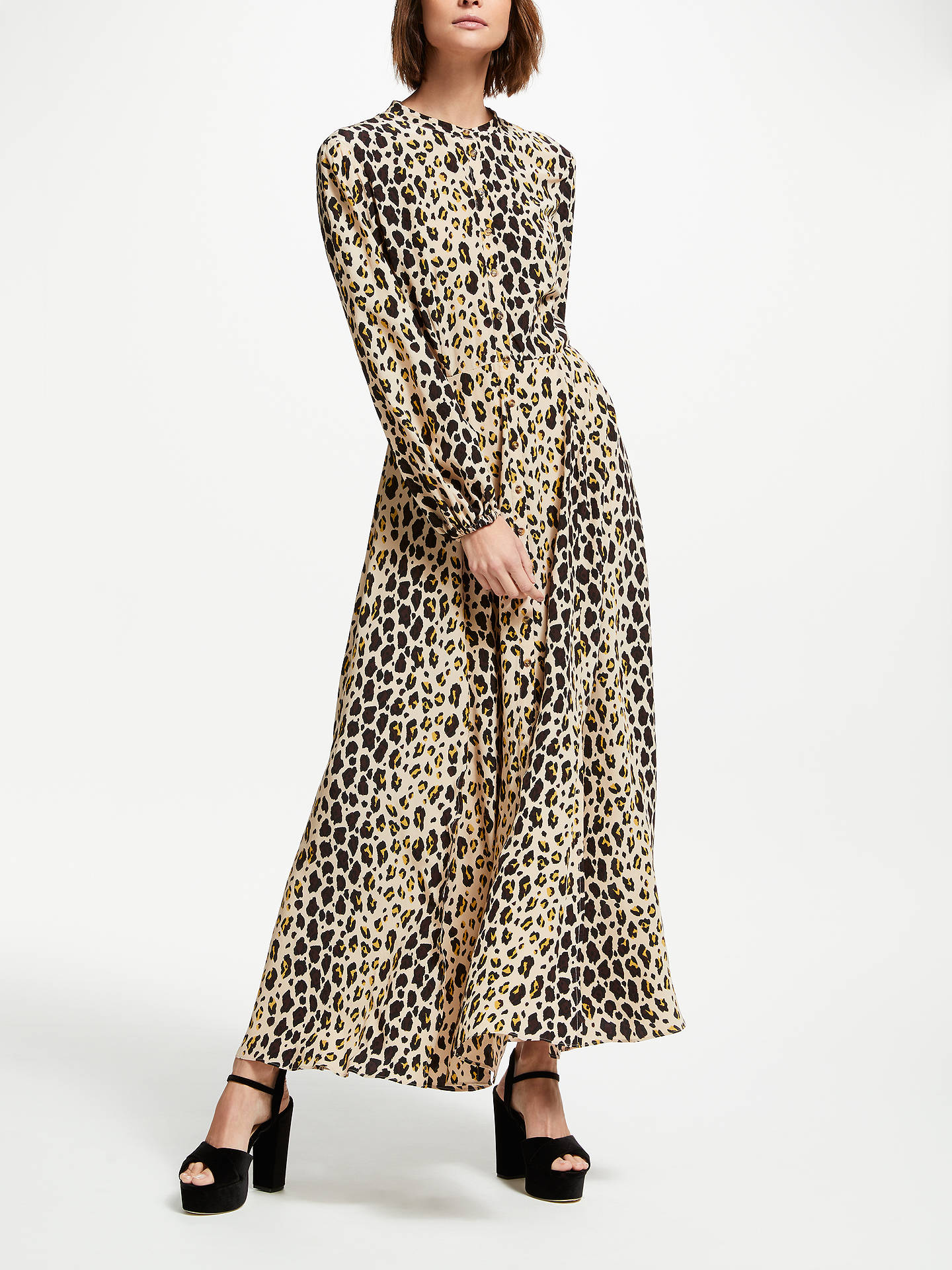 35dbaa9f85b Buy Somerset by Alice Temperley Leopard Print Maxi Dress