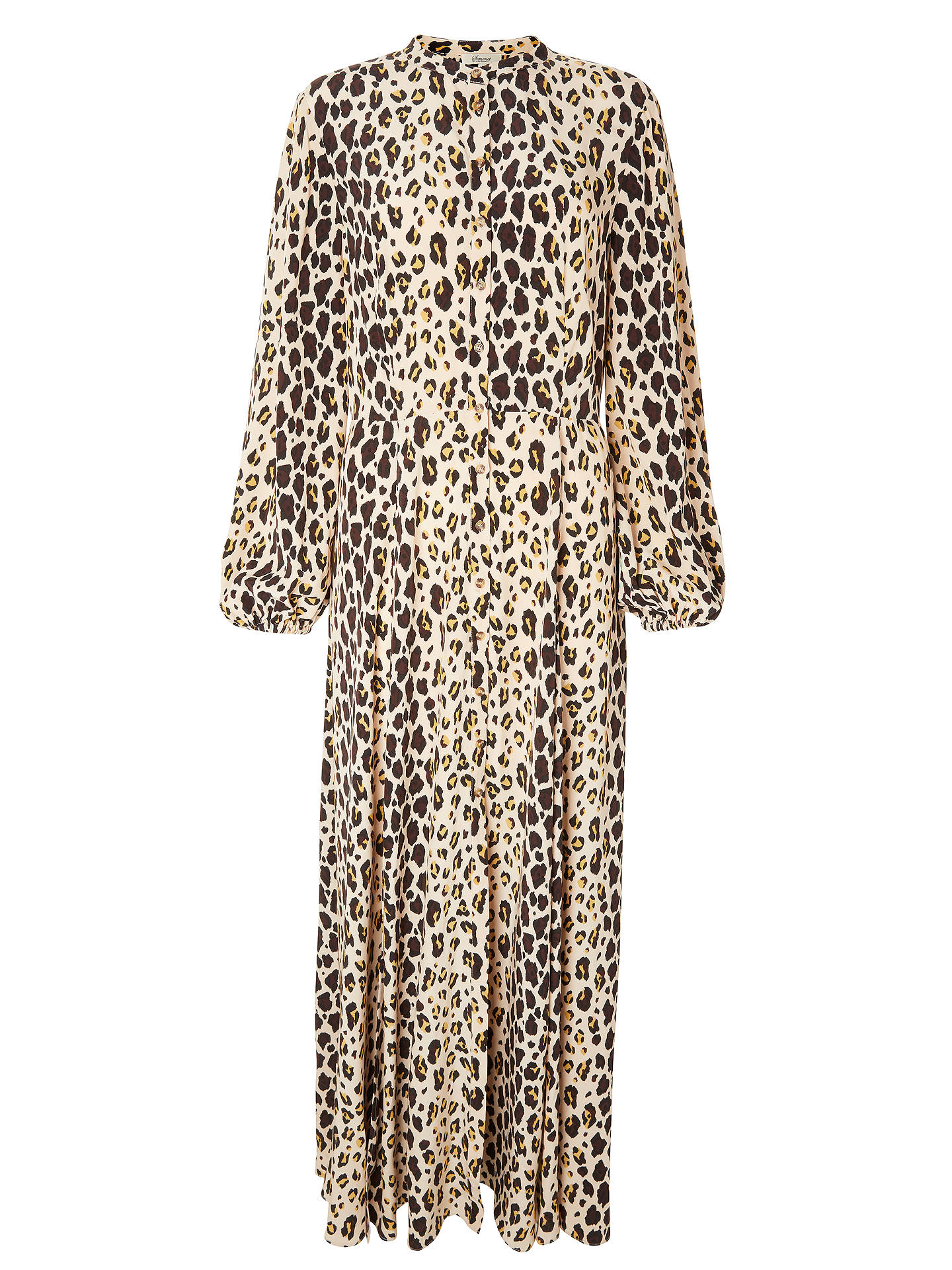 Buy Somerset by Alice Temperley Leopard Print Maxi Dress, Multi, 8 Online at johnlewis.com