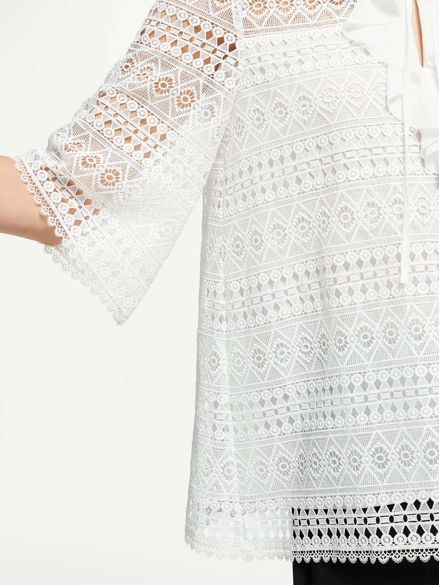 BuySomerset by Alice Temperley Lace Top, Ivory, 8 Online at johnlewis.com