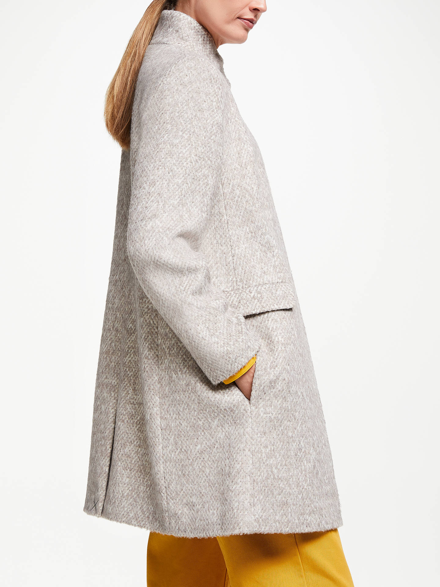 BuyJohn Lewis & Partners Funnel Coat, Camel, 8 Online at johnlewis.com