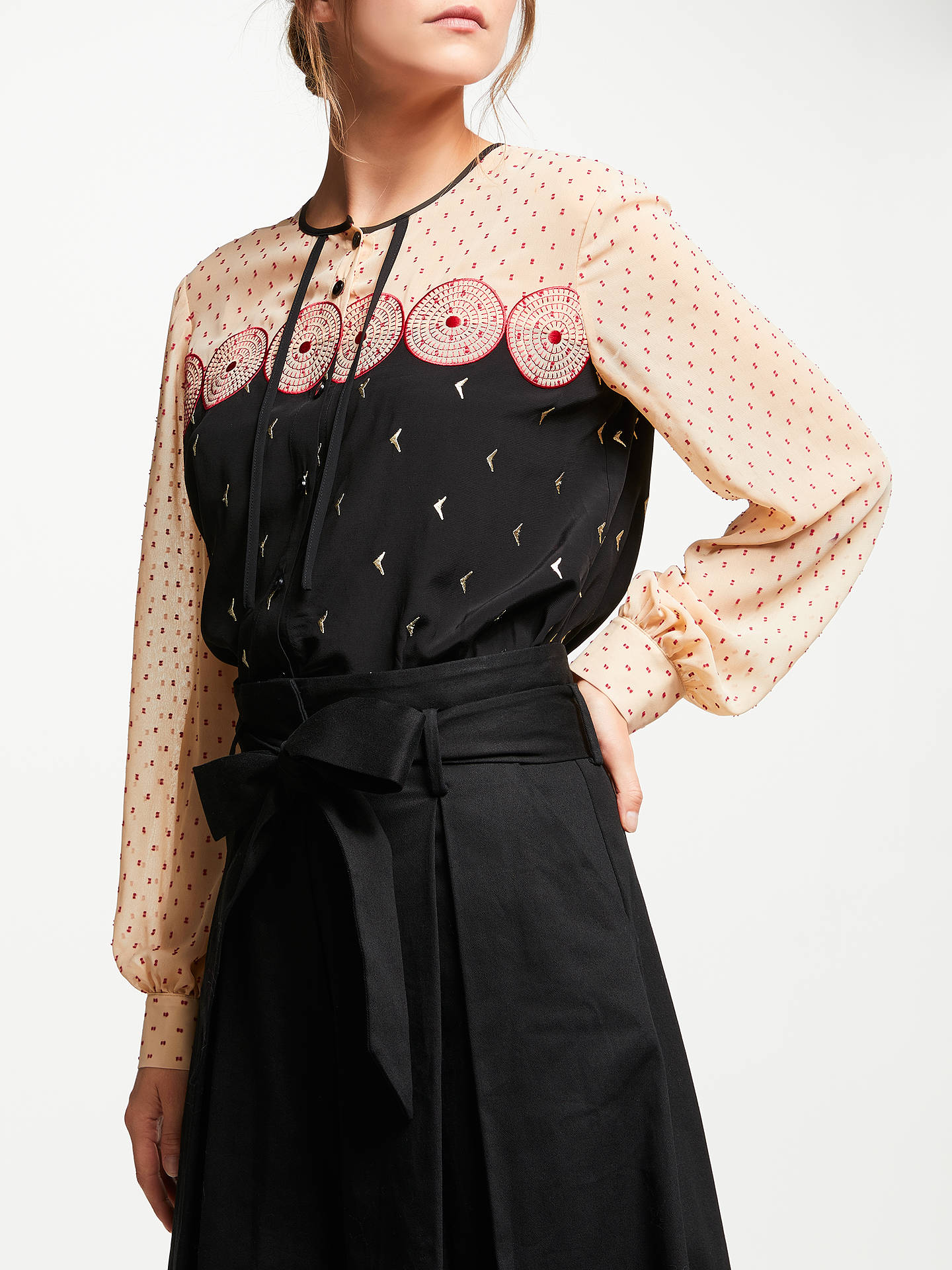 BuySomerset by Alice Temperley Embroidery Shirt 2e1f87631