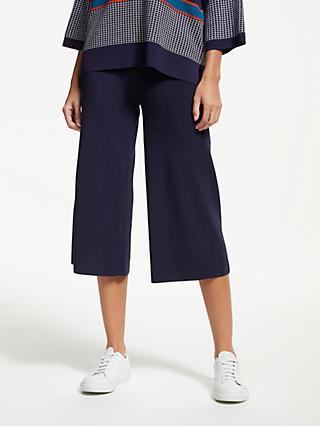 PATTERNITY + John Lewis Easy Knitted Culottes, Navy