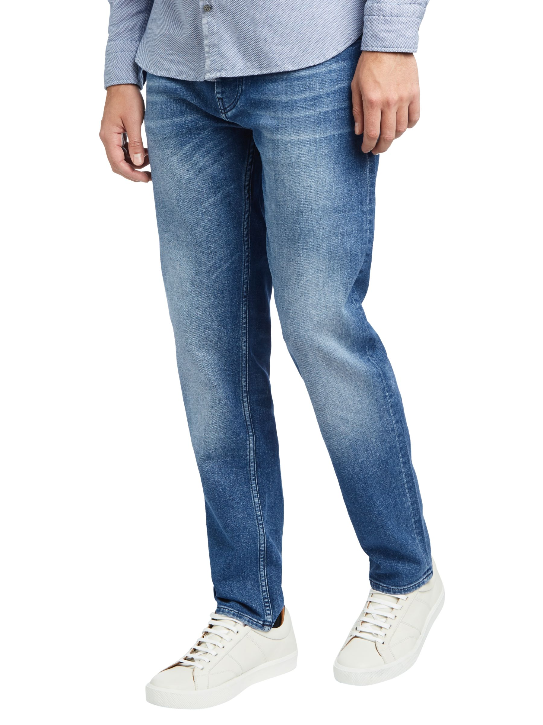 Hervorragend BOSS Taber BC Tapered Fit Jeans at John Lewis & Partners FA37