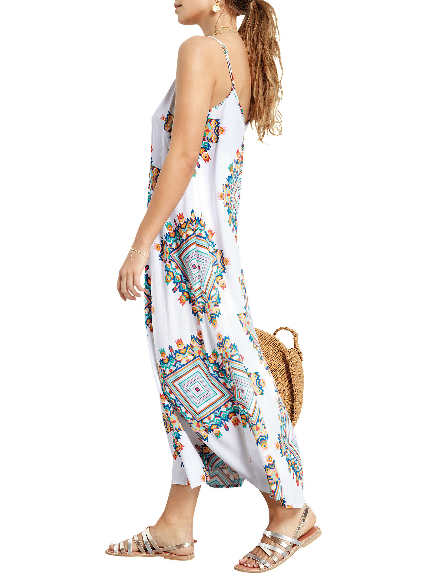 d04526f7 ... Buy hush Bay Maxi Dress, Multi White, 12 Online at johnlewis.com ...