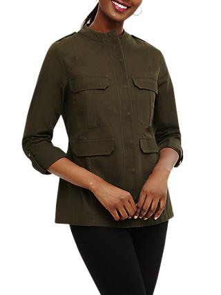 Phase Eight Elvina Jacket, Khaki