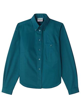 Scouts Long Sleeve Blouse, Green