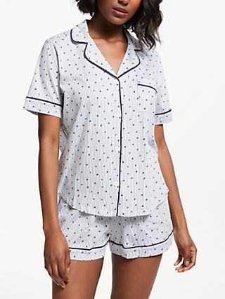 DKNY Shortie Stripe Pyjama Set 8cffebf11