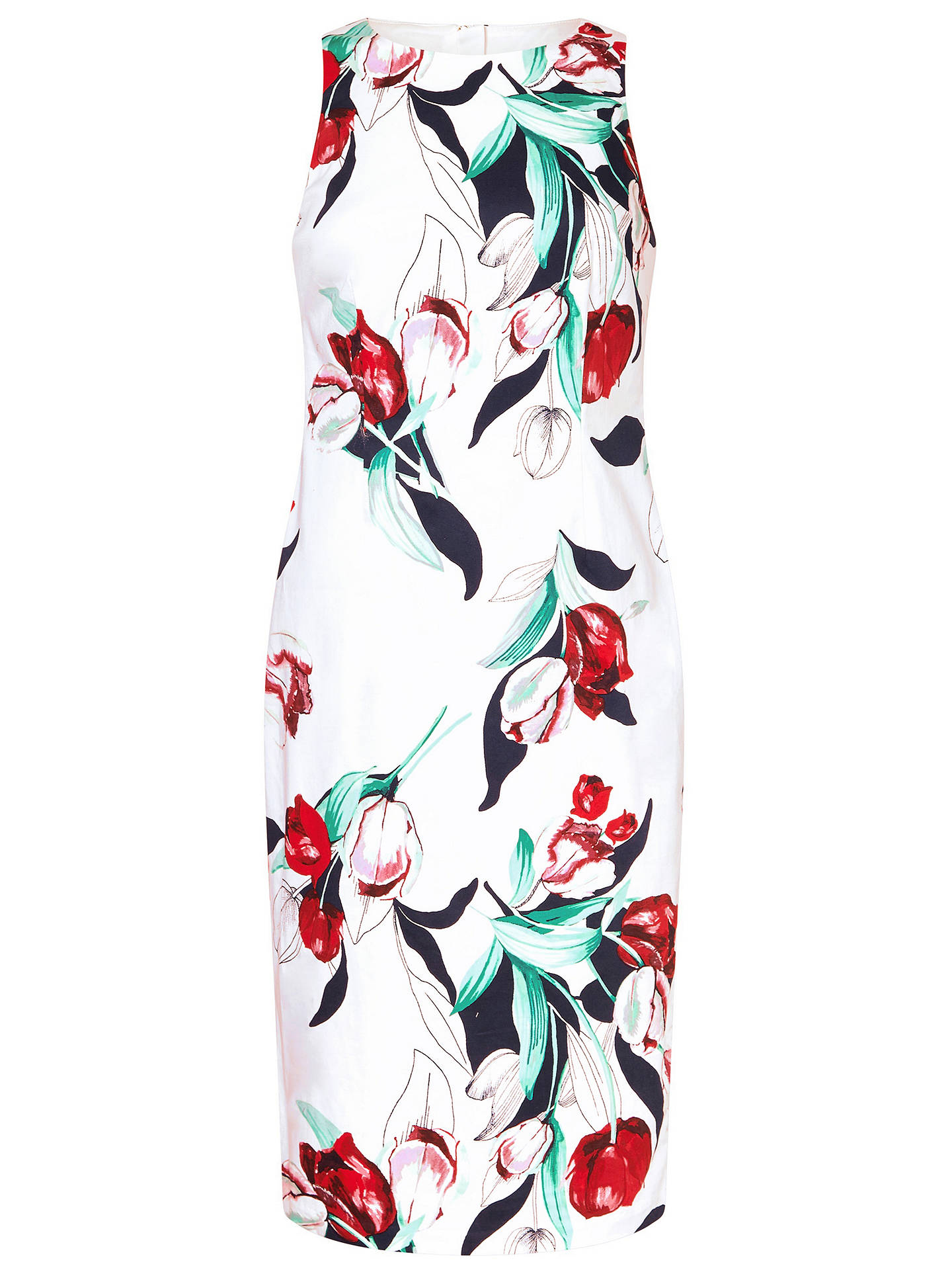 BuyAdrianna Papell Dynasty Floral Pencil Dress, Multi, 8 Online at johnlewis.com