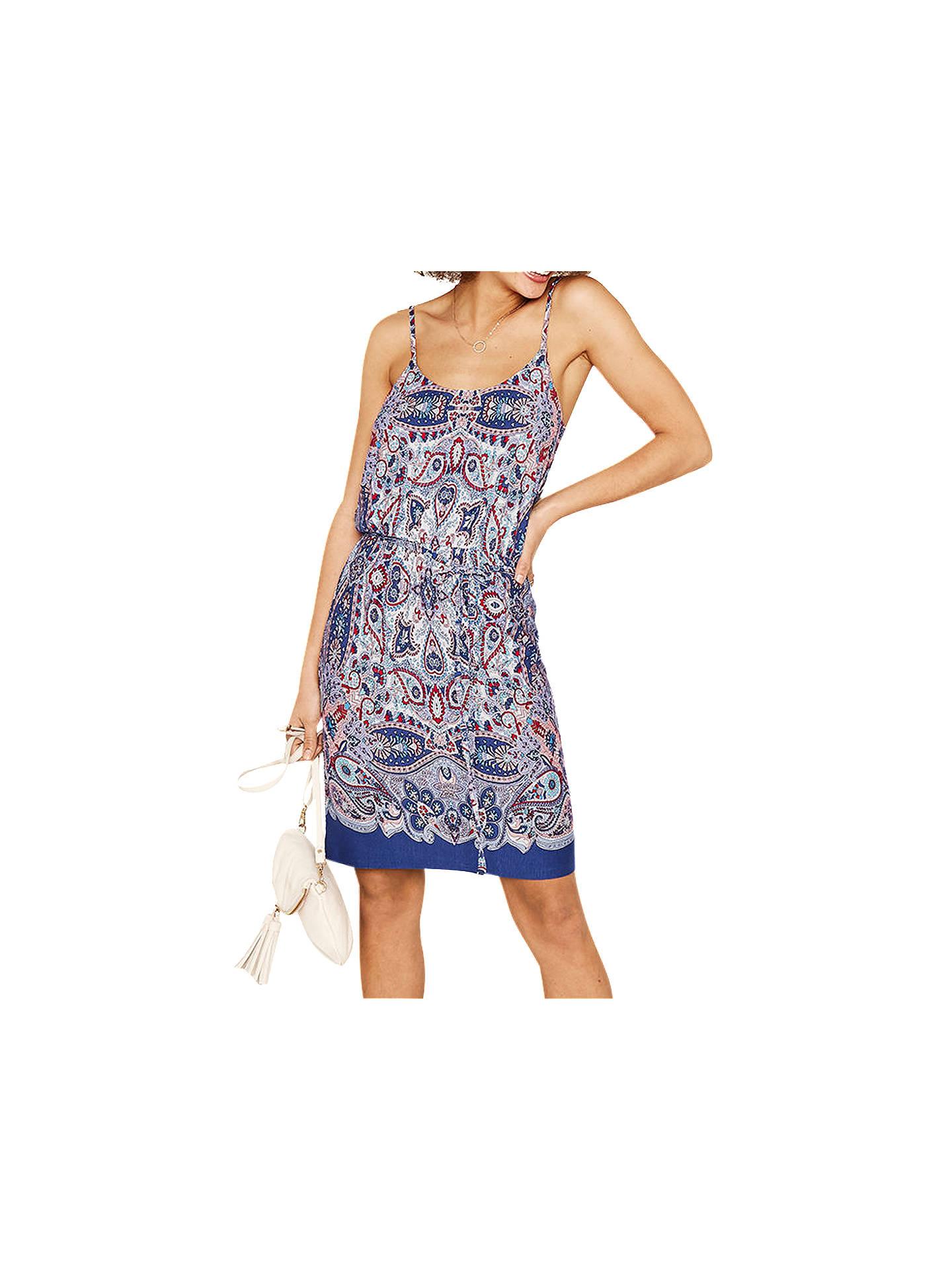 d859595ea211 ... Buy Oasis Paisley Cami Dress, Multi, S Online at johnlewis.com ...
