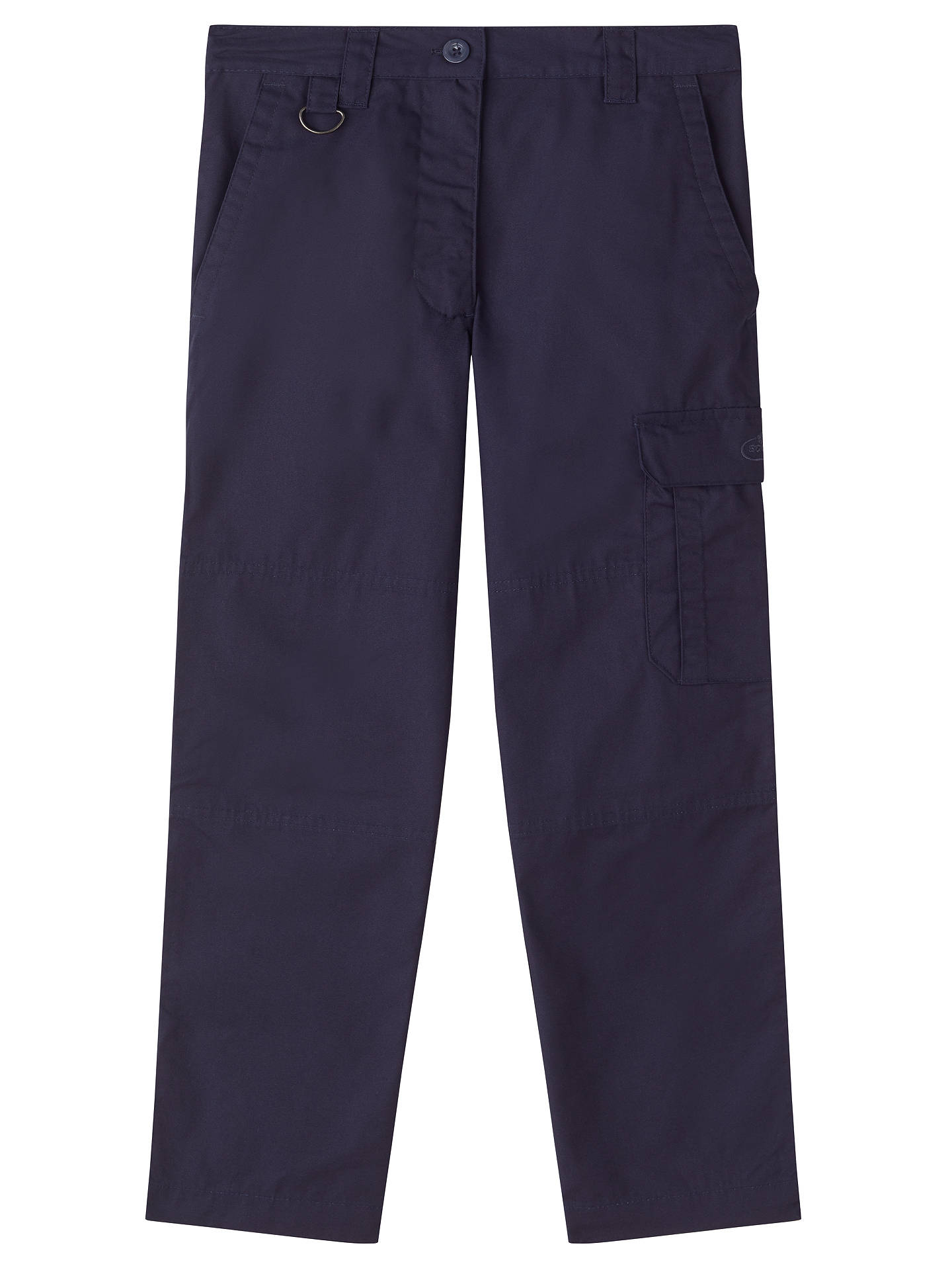 BuyBeavers, Cubs & Scouts Girls' Activity Trousers, Navy, 11-12 years Online at johnlewis.com