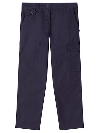 Buy Beavers, Cubs & Scouts Girls' Activity Trousers, Navy, 11-12 years Online at johnlewis.com