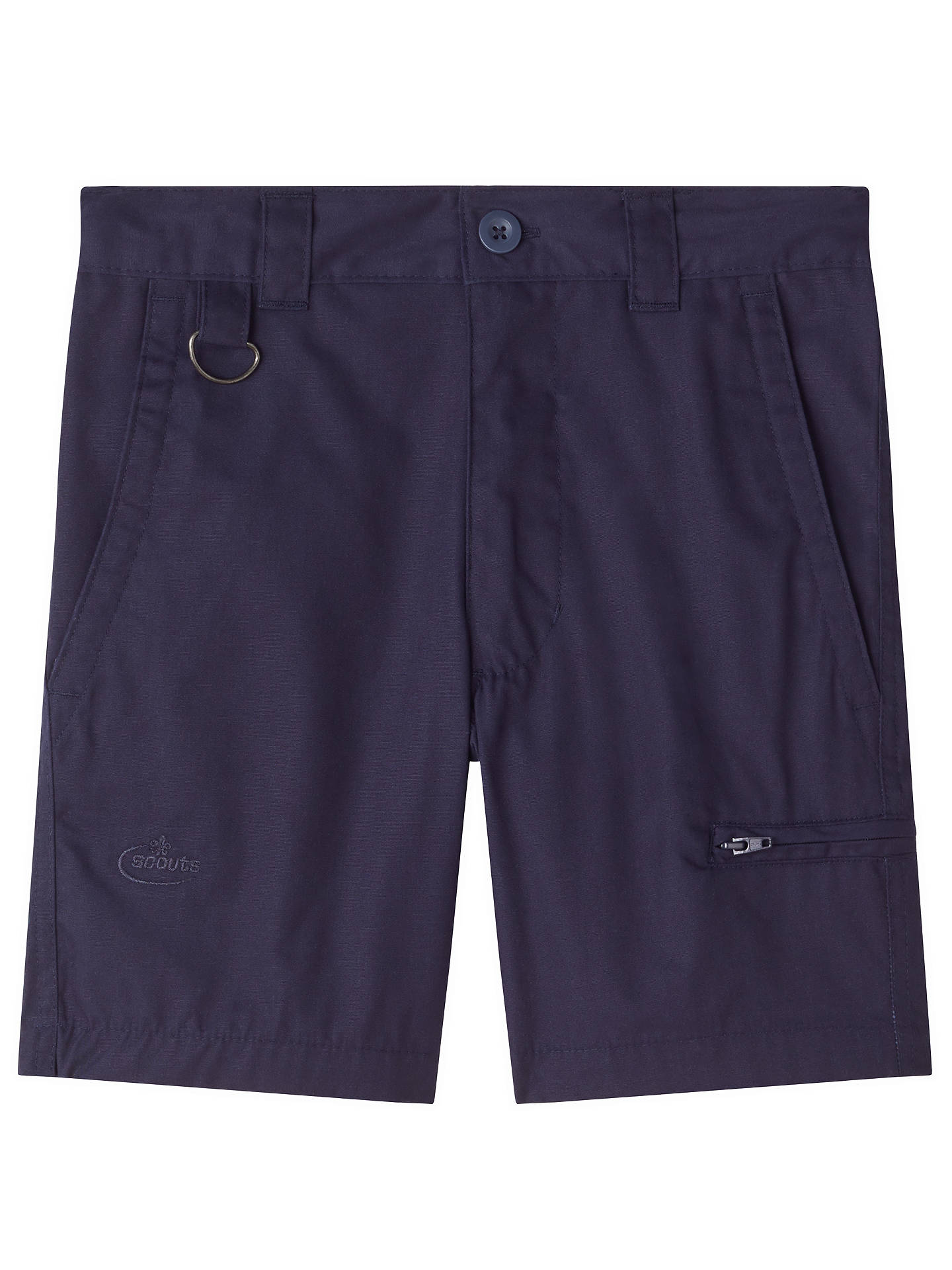 Buy Beavers, Cubs & Scouts Activity Shorts, Navy, 11-12 years Online at johnlewis.com