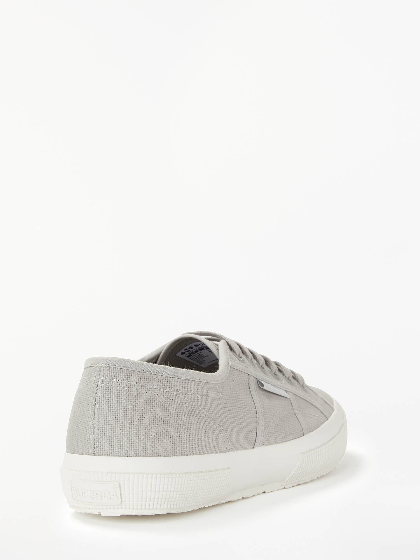 Buy Superga Cotu Classic Lace Up Plimsolls, Grey, 5 Online at johnlewis.com