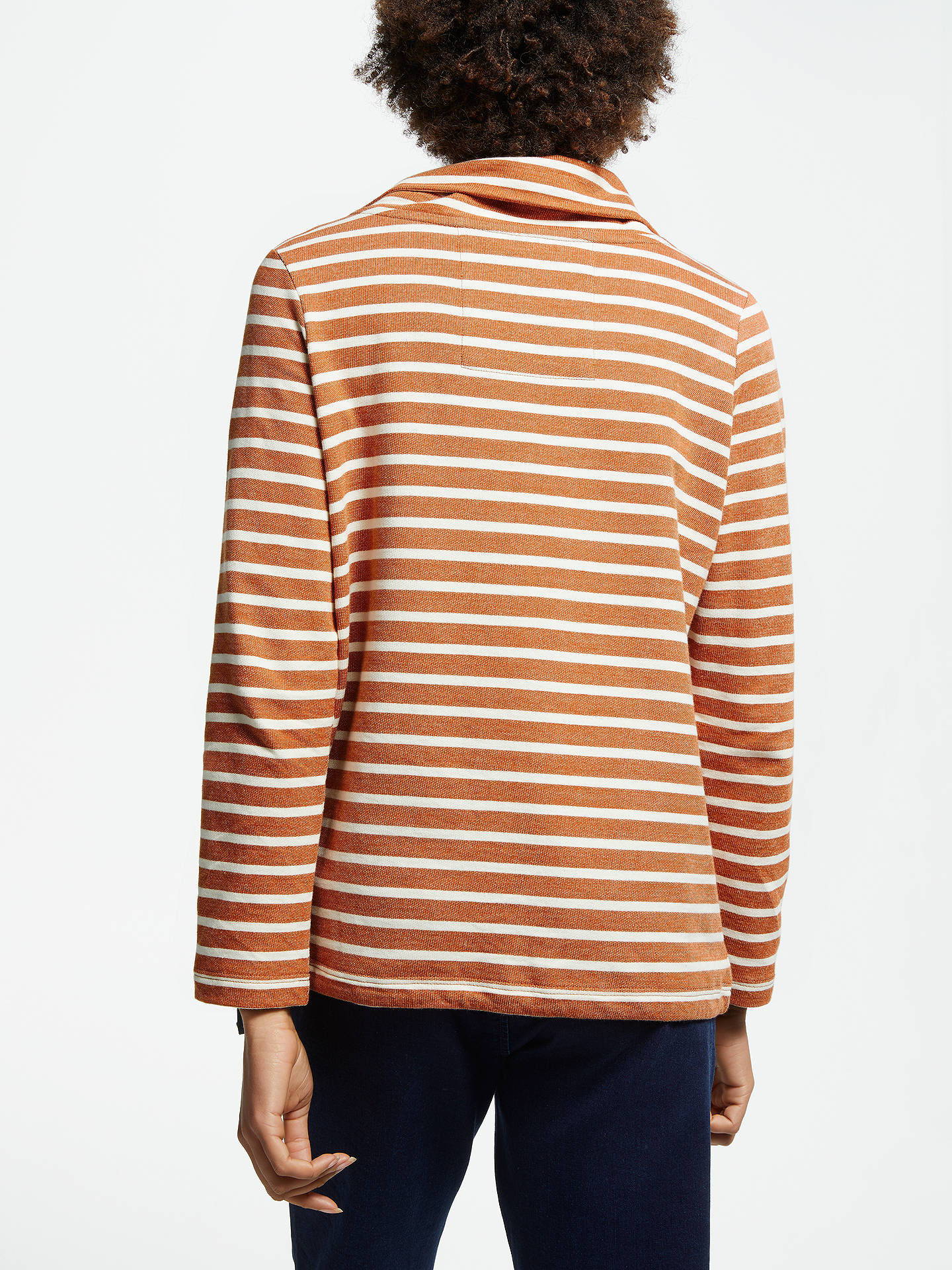 BuySeasalt Low Seas Sweatshirt, Breton Oar Ecru, 8 Online at johnlewis.com
