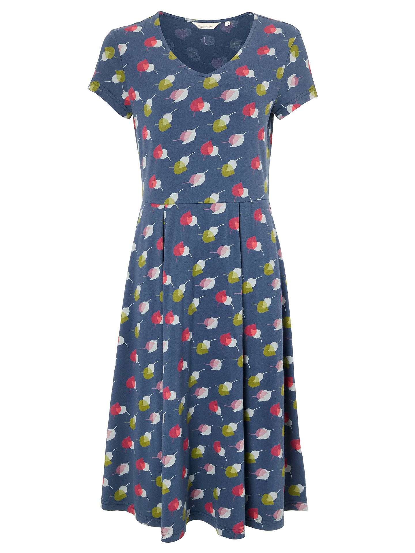 BuySeasalt Pier View Dress, Leaf Duo Night, 8 Online at johnlewis.com