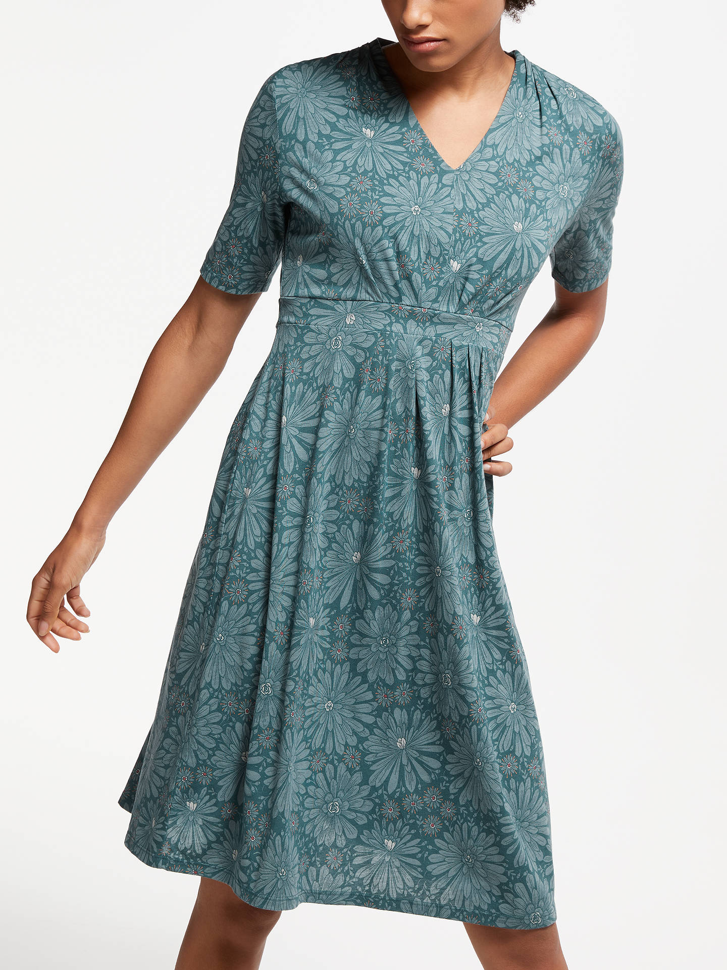 BuySeasalt Wheal Rose Dress, Aeonium Garden Sardine, 8 Online at johnlewis.com