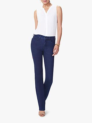 NYDJ Marilyn Straight Leg High Waist Jeans, Rinse