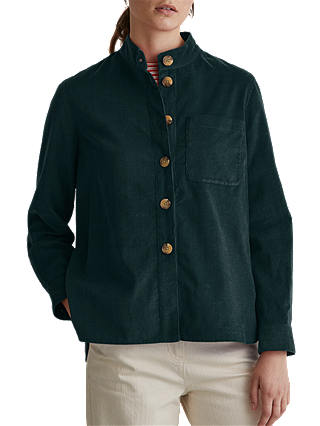Buy Toast Cotton Needlecord Jacket, Teal, 8 Online at johnlewis.com