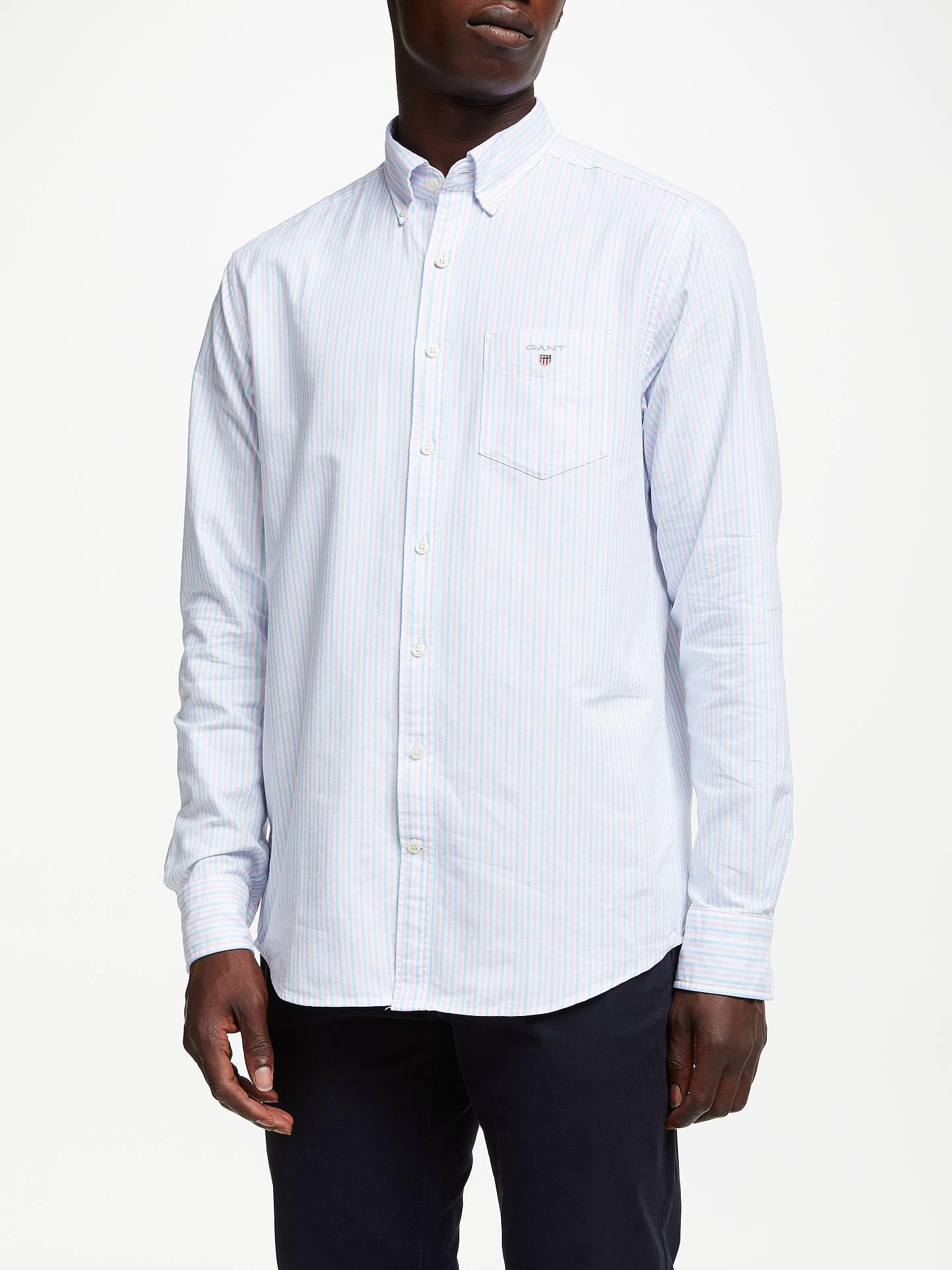 0db14f4bc29 Buy GANT Regular Fit Poplin Banker Stripe Shirt