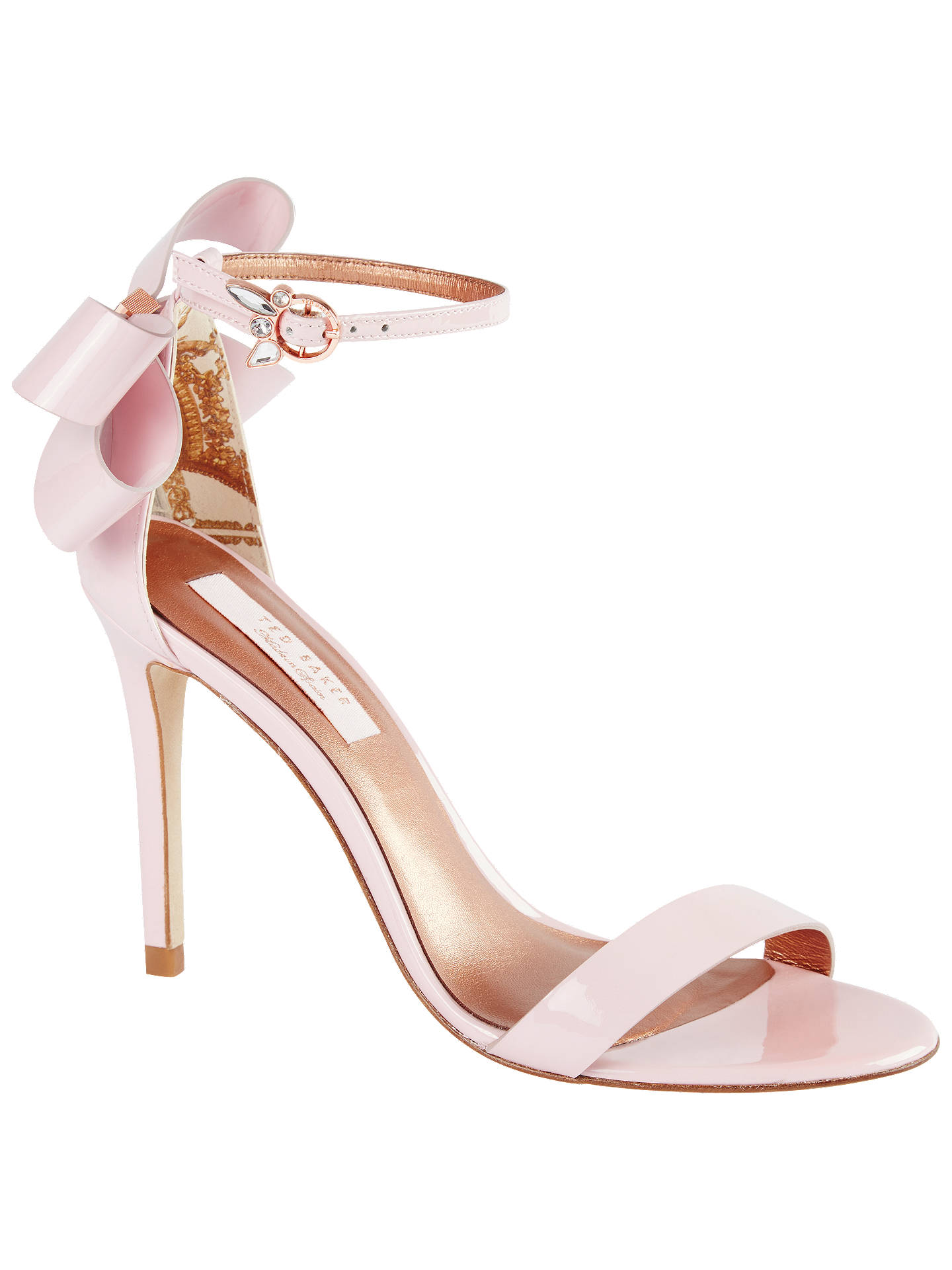 66410fa5681a1 Ted Baker Sandalo Stiletto Heel Sandals at John Lewis   Partners