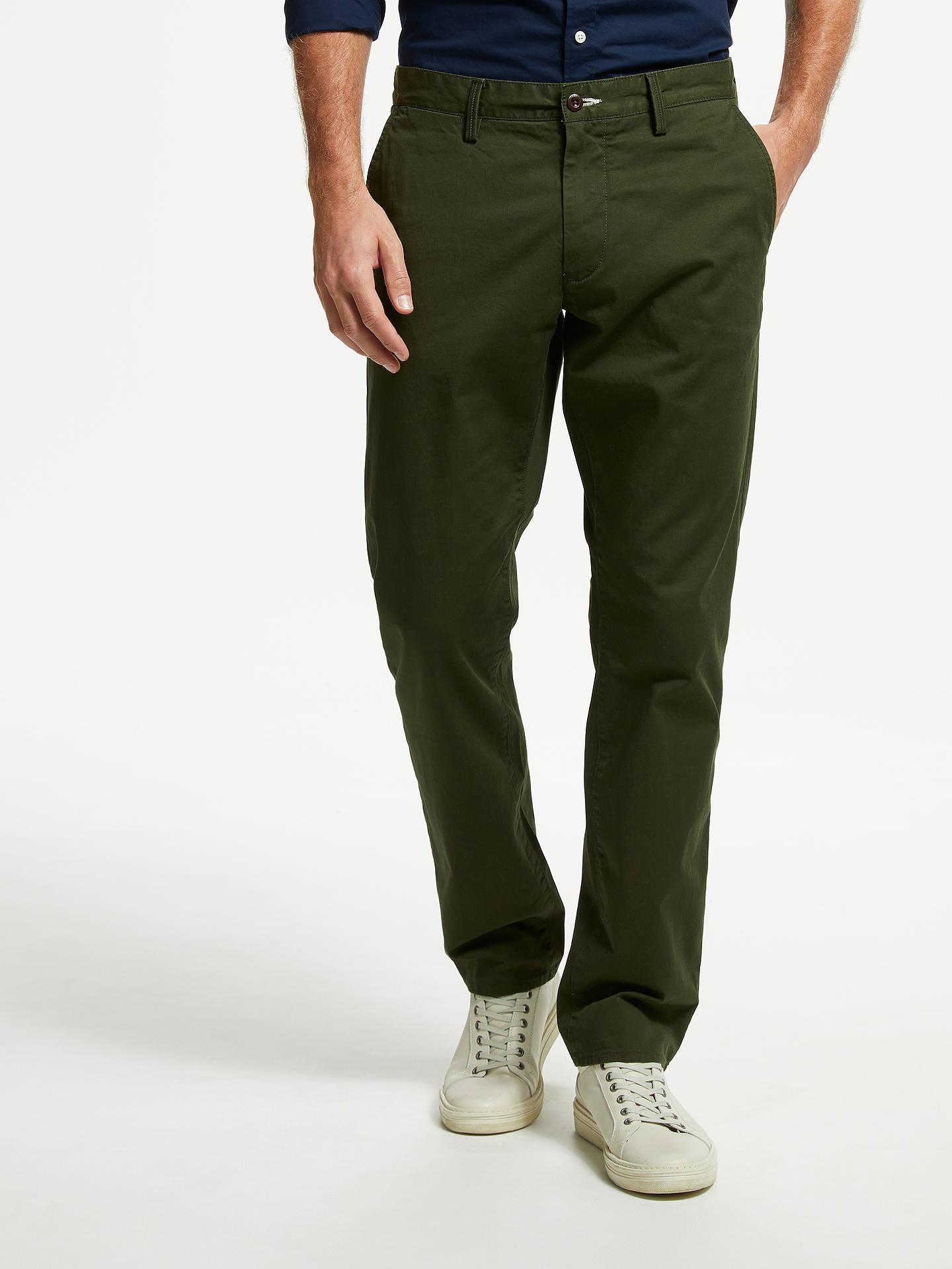 amazon specialförsäljning bästsäljande GANT Regular Twill Chino Trousers at John Lewis & Partners