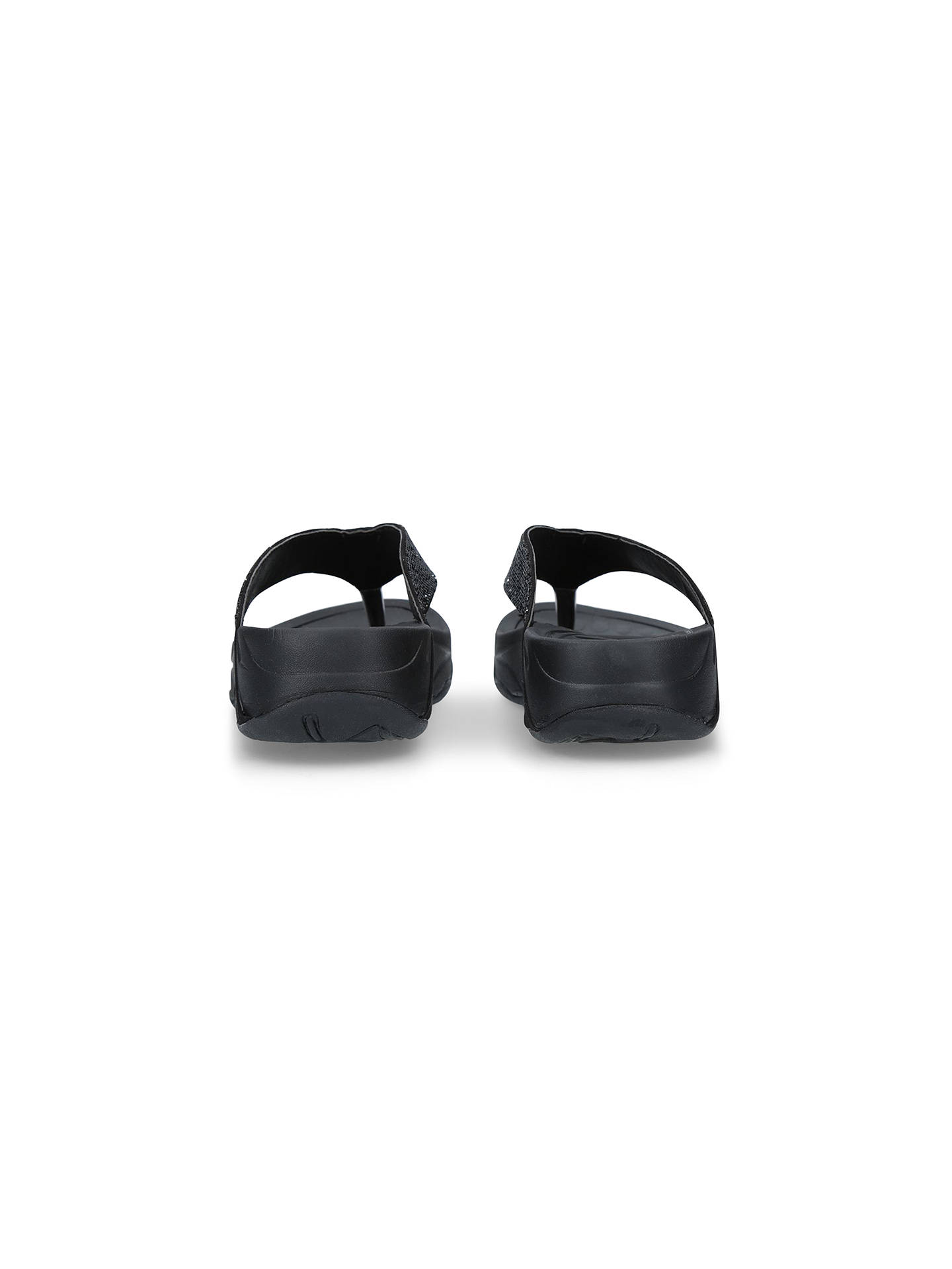Buy Carvela Comfort Sin Toe Post Sandals, Black, 5 Online at johnlewis.com