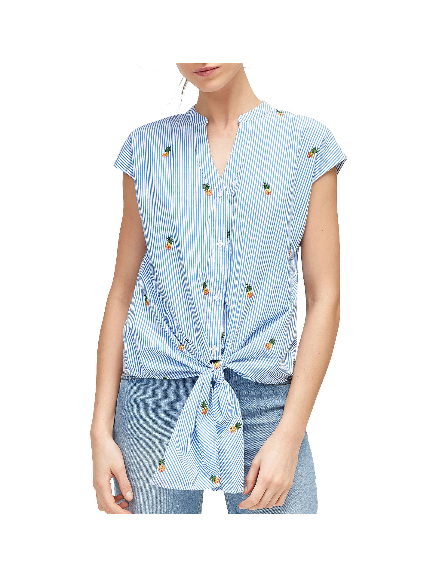 1f4a175f22 Buy Warehouse Pineapple Tie Front Shirt