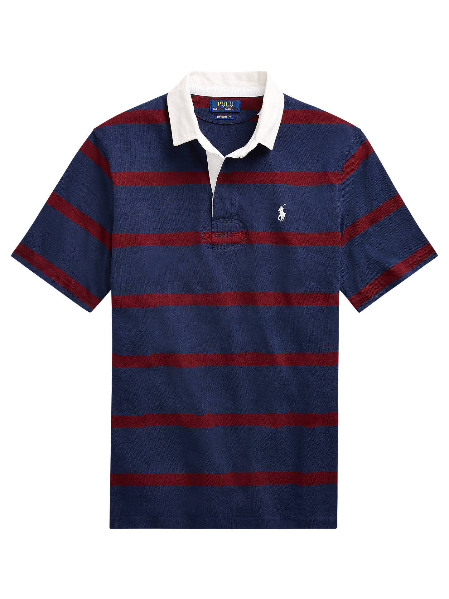 d2b7ab97ff0 ... wholesale buypolo ralph lauren short sleeve stripe rugby shirt newport  navy wine m online cb9de 9a7cb